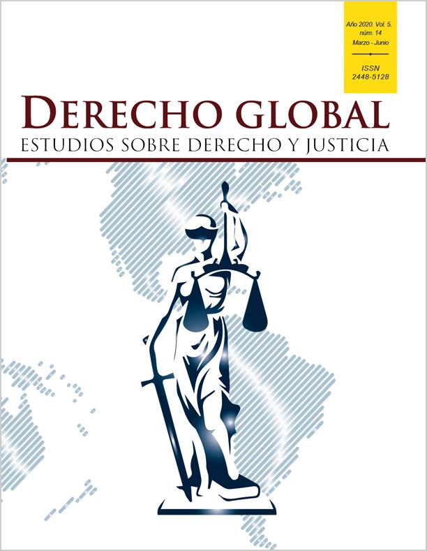 derecho global año 2020, vol 5, num 14